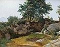 Fritz Petzholdt, Italiensk bjerglandskab, 1831, 0195NMK, Nivaagaards Malerisamling.jpg