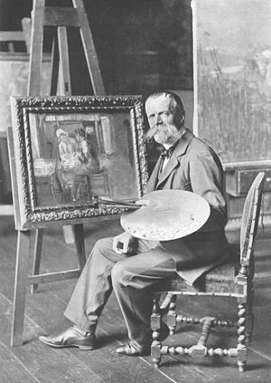 Fritz von Uhde - Uhde in 1902