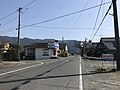 Fukuoka Prefectural Road No.140 in front of Zendoji Station 2.jpg