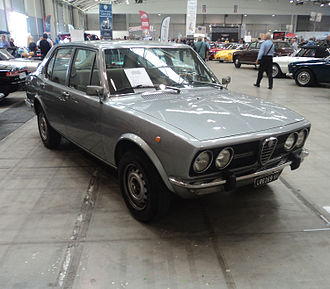 Alfa Romeo Alfetta - The original Alfetta Berlina