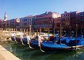 Gòndoles als canals de Venècia.jpg