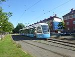 Göteborg tram line 3 on Älvsborgsgatan.JPG