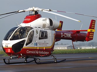 Air ambulances in the United Kingdom - G-CNWL MD902