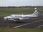 G-OLIV Beech Super King Air 200 Dragonfly Aviation Services Ltd (35246974305).jpg