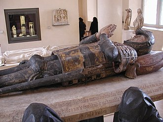 Philippe Pot - The effigy of Philippe Pot atop his tomb for Cîteaux, now in the Louvre, Paris