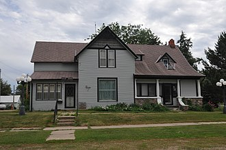 National Register of Historic Places listings in Faulk County, South Dakota - Image: GOV. FRANK M. BYRNE HOUSE, FAULK COUNTY, SD