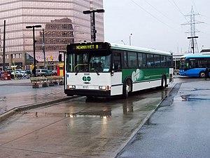 GO Transit bus services - Image: GO Transit Orion V 2000