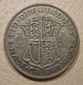 GREAT BRITAIN, GEORGE V, 1930 -HALF CROWN a - Flickr - woody1778a.jpg