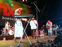 GROUPLOVE, performing at WFNX's Seaport Six, Boston Bank of America Pavilion, Jun 14 2012.jpg