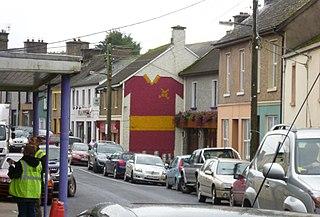 Tulla Town in Munster, Ireland