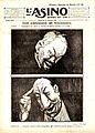 Gabriele Galantara, Gli estremi si toccano, copertina de l'Asino del 30 gennaio 1921.jpg