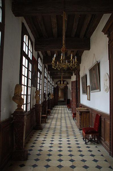 Galerie du château de Saint-Fargeau
