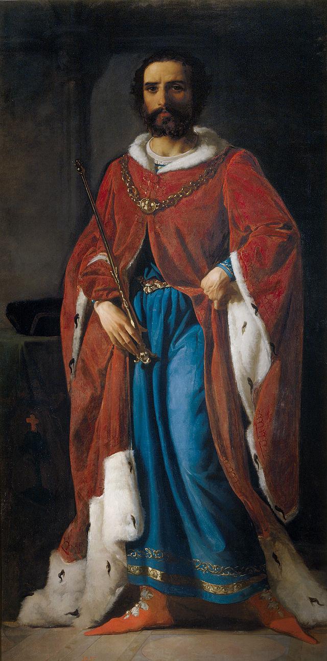 Galindo II Aznárez, por Eduardo Rosales. 1857.