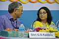 Ganga Singh Rautela and Arundhaty Ghosh - Inaugural Function - MSE Golden Jubilee Celebration - Science City - Kolkata 2015-11-17 7232.JPG