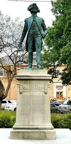 Peter Gansevoort - Statue of Peter Gansevoort, Rome, NY