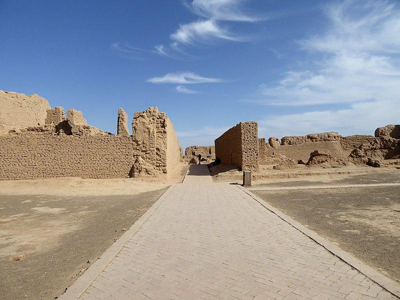 File:Gaochang Ruins Turpan Xinjiang China 新疆 吐魯番 高昌故城 - panoramio (10).jpg