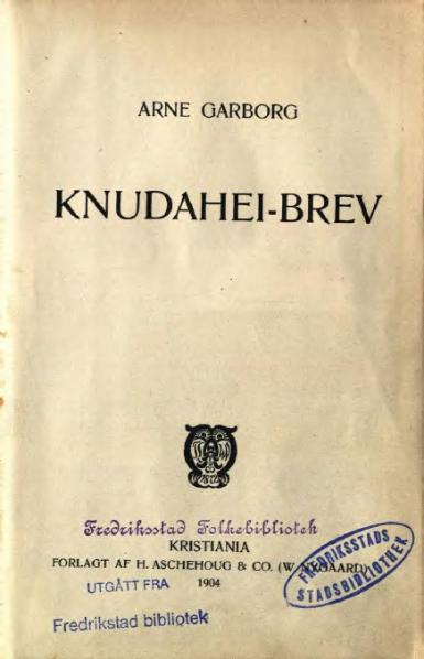 File:Garborg - Knudahei-brev.djvu