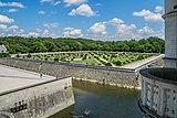 Garden of Diane de Poitiers in the Castle of Chenonceau 20.jpg