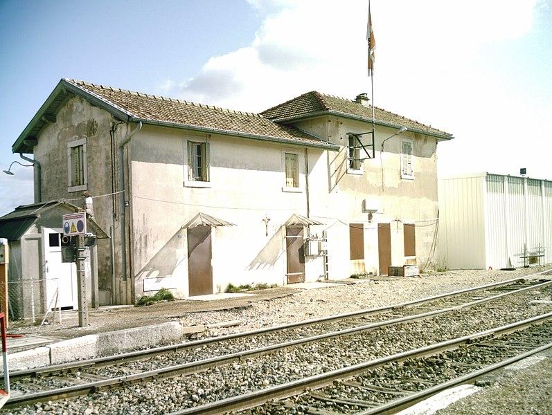 Gare de Nurieux-Volognat (Ain - France)