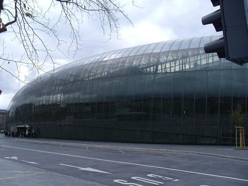 Страсбургский вокзал. Фото с Wikimedia