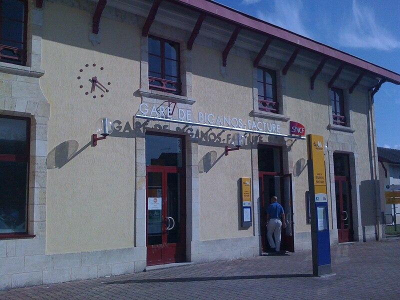 Gare SNCF de Biganos-Facture (33)