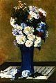 Gauguin 1876 Fleurs dans un vase bleu.jpg