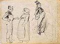 Gavarni P. attr. - Ink - Etude de personnages (VERSO) - 25x18.2cm.jpg