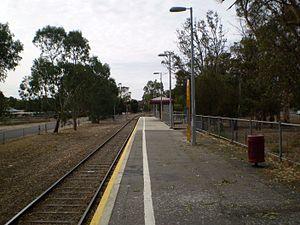 Gawler Oval railway station - Image: Gawler Oval Railway Station Adelaide