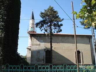 Turks of Romania - Hunchiar Mosque in Constanța, built in 1867–1868 by Ottoman sultan Abd-ul-Aziz