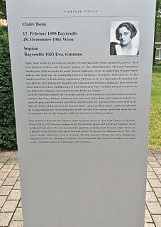 German singer, opera singer and music educator
