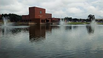 Commerce, Texas - Gee Lake of Texas A&M University-Commerce.