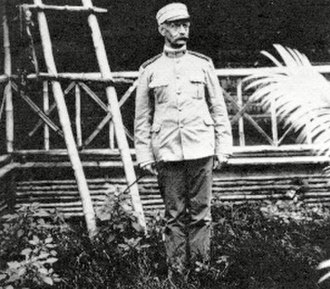 Jacob H. Smith - Smith in Tacloban, Philippines, 1901