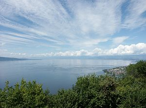 Retrach de Lac leman
