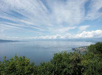 Puidoux - Lake Geneva from Puidoux