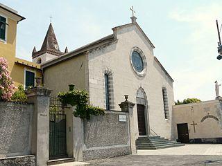 Church of the Santissima Annunziata in Sturla church building in Genoa, Italy