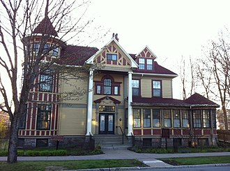 Local Council of Women of Halifax - George Henry Wright House - Wright bequeathed his home to the Local Council of Women, Halifax Nova Scotia (1912)