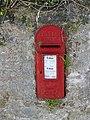 George V postbox, Rhosycaerau - geograph.org.uk - 1497671.jpg
