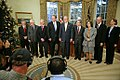 George W. Bush meets with the American 2007 Nobel Award recipients-20071126.jpg