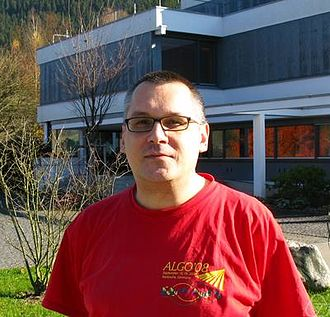 Gerhard J. Woeginger - At the Combinatorial Optimization Workshop 2011 in Oberwolfach