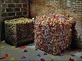 Gerhard vormwald-one cubic meter potatoes, one cubic meter barbie -le couéche-1993.jpg