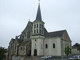 Extérieur de l'église Saint-Pierre