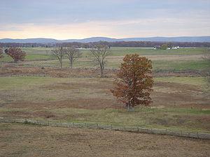 Battlefield at Gettysburg, Pennsylvania