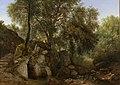 Gezicht in het park van de Villa Chigi bij Ariccia Rijksmuseum SK-A-4955.jpeg