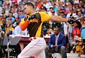 Giancarlo Stanton competes in semis of '16 T-Mobile -HRDerby. (28468366842).jpg