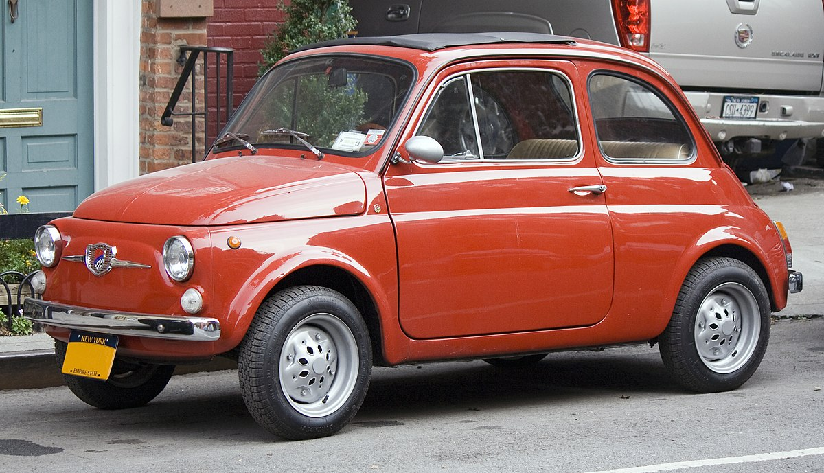 Fiat Nuova 500 Giannini