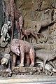 Giardino di castello, grotta degli animali o del diluvio, vasca di sx 05 orso di antonio lorenzi, francesco ferrucci del tadda e altri, 1555-57 ca.jpg