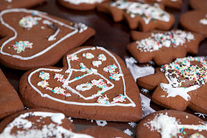 Latvian cuisine - Image: Gingerbreads (Latvia)