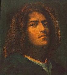 autoportrait giorgione � wikip233dia