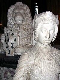 Gisant de François II, cathédrale de Nantes, France.jpg