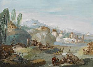 Giuseppe Bernardino Bison - Image: Giuseppe Bernardino Bison La Tebaide